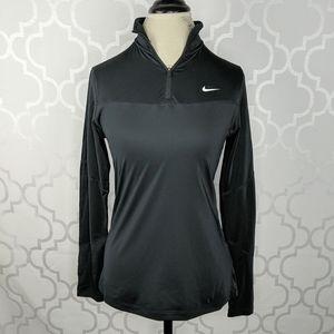Nike Dri-Fit Long Sleeve Black Sport Top